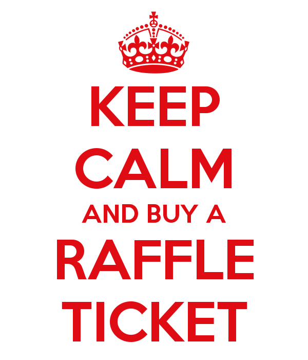 keep calm raffle