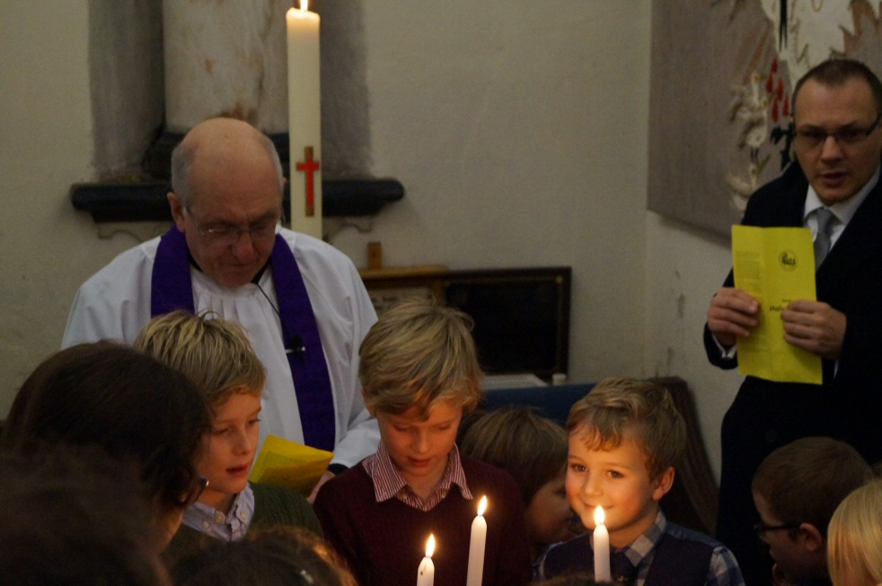 Baptism at Waltham St Lawrence